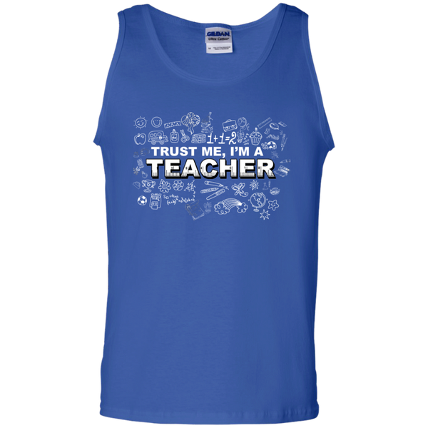 Trust me I'm a Teacher Tank Top - TeachersLoungeShop - 4