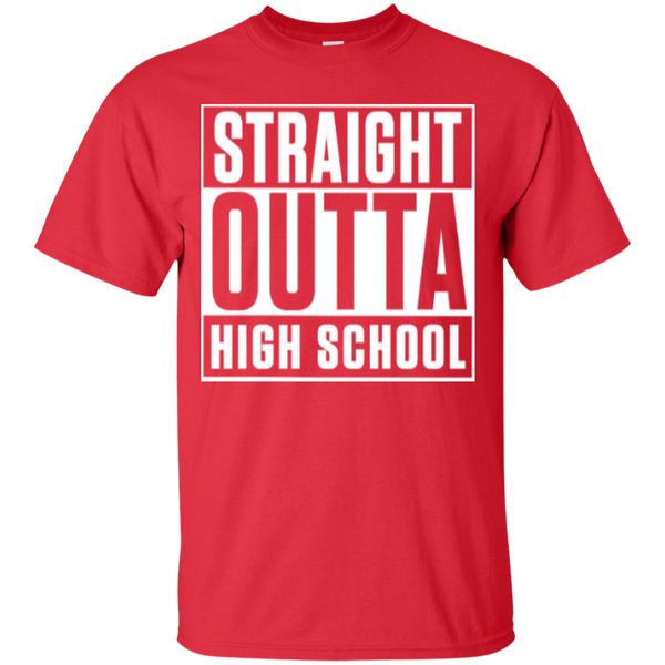 Straight Outta Middle School   Cotton T-Shirt - TeachersLoungeShop - 7