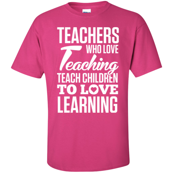 Teachers who love Teaching  T-Shirt - TeachersLoungeShop - 11