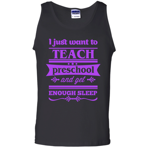 I just want to teach preschool and get enough sleep - TeachersLoungeShop - 1