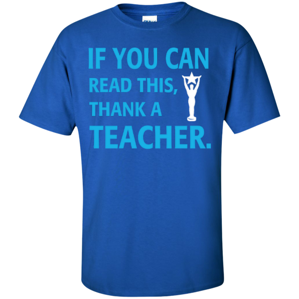 If You Can Read This Thank a Teacher T-shirt Hoodie - TeachersLoungeShop - 3