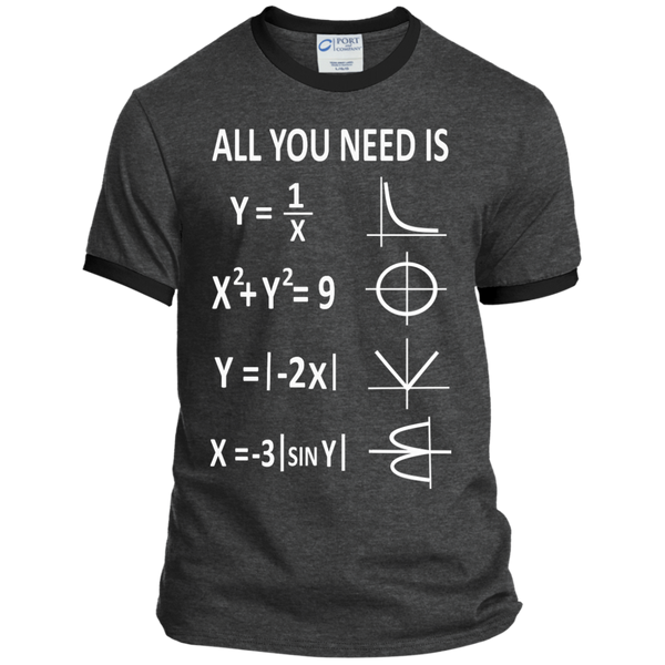 All You Need is Love Ringer Tee - TeachersLoungeShop - 3