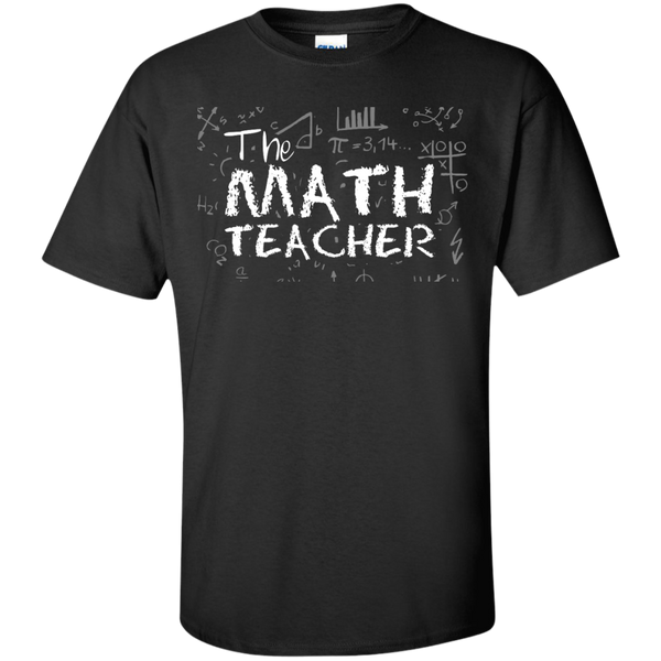 The Math Teacher  T-Shirt - TeachersLoungeShop - 1