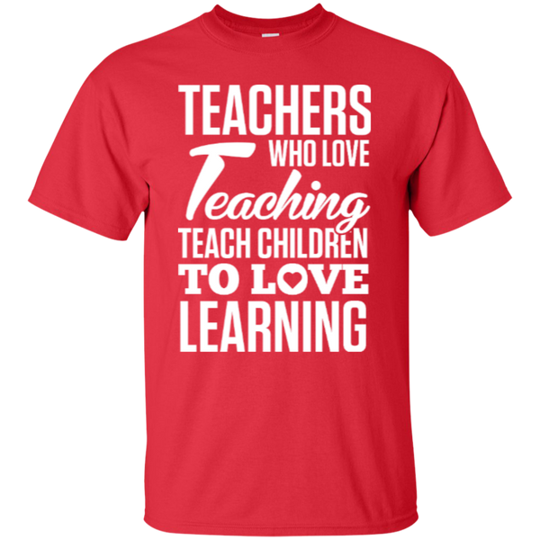 Teachers who love Teaching  T-Shirt - TeachersLoungeShop - 3