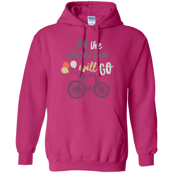 Oh The places you will go   Hoodie