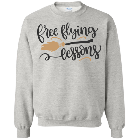 Free Flying Lessons Sweatshirt