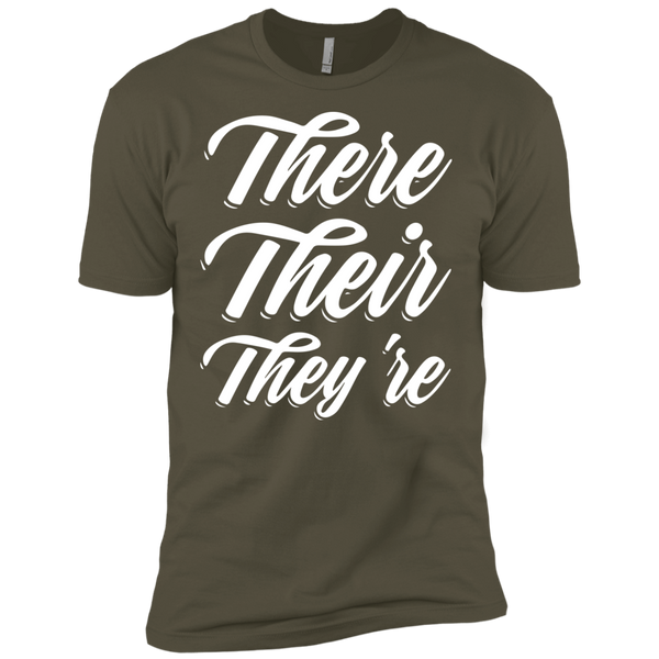 They Their They're  Next Level Premium Short Sleeve Tee - TeachersLoungeShop - 7