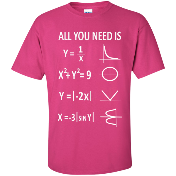 All You Need is Love Cotton T-Shirt - TeachersLoungeShop - 7
