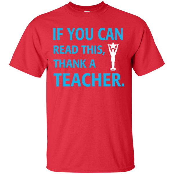 If You Can Read This Thank a Teacher T-shirt Hoodie - TeachersLoungeShop - 2
