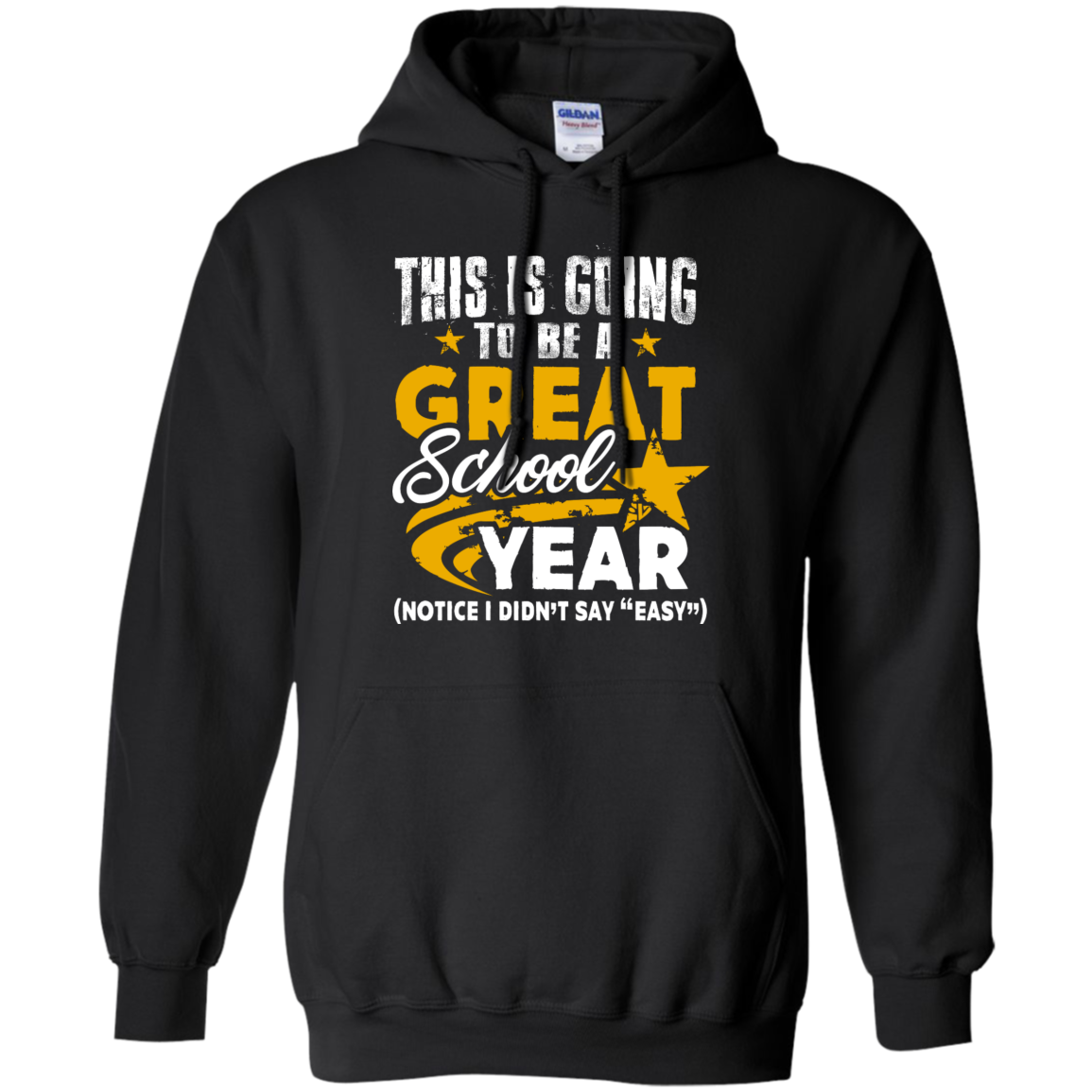 This is Going to be a Great School Year Hoodie 8 oz - TeachersLoungeShop - 1