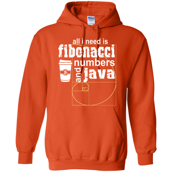 All i need is fibonacci numbers and java  Hoodies - TeachersLoungeShop - 10