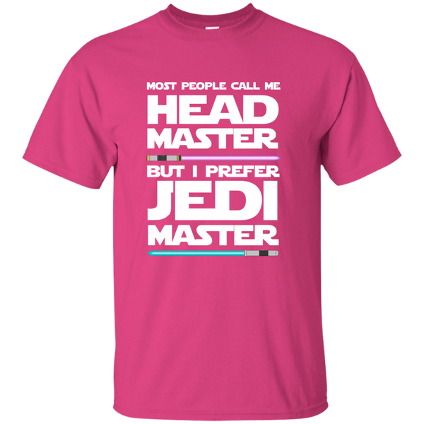 Most People Call Me Head Master But I Prefer Jedi Master Cotton T-Shirt - TeachersLoungeShop - 7