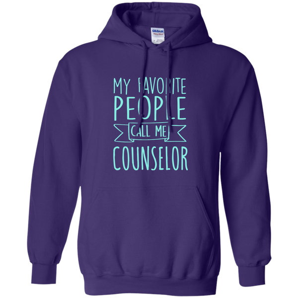 My Favorite People call Me Counselor Pullover Hoodie 8 oz - TeachersLoungeShop - 10