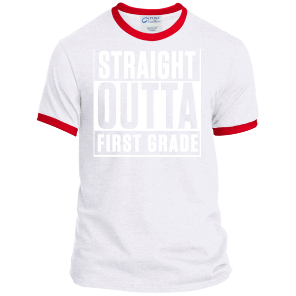 Personalized Ringer Tee - TeachersLoungeShop - 2