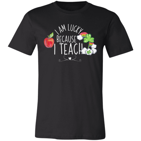 I am lucky because I teach T-Shirt