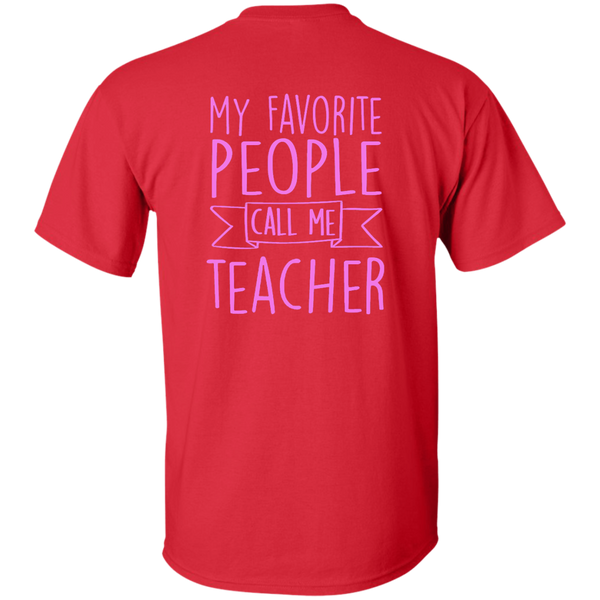 Teacher 101 Cotton T-Shirt - TeachersLoungeShop - 7
