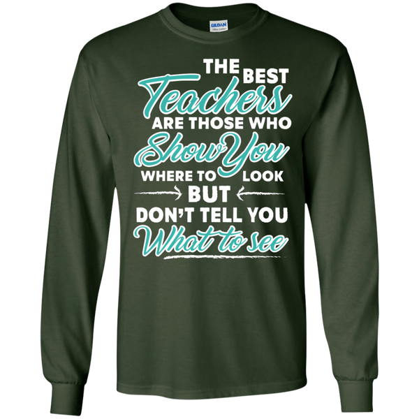 The Best Teachers are those who show you Ultra Cotton Tshirt - TeachersLoungeShop - 2