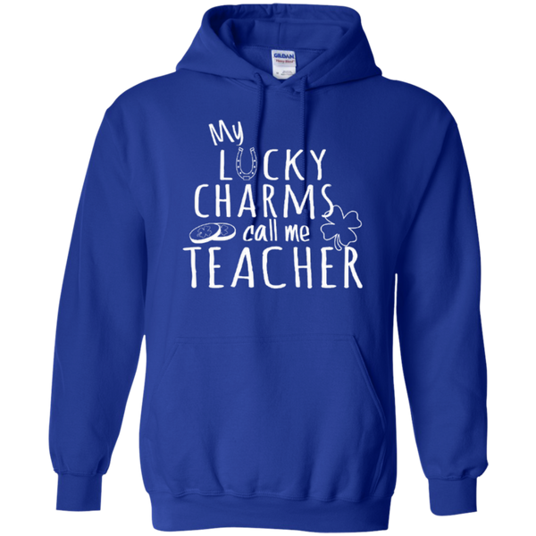 My Lucky Charms Call Me Teacher T-shirt Hoodie - TeachersLoungeShop - 11