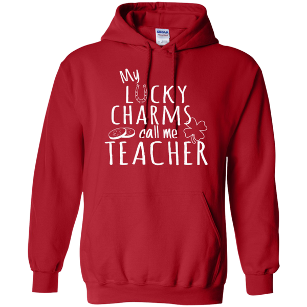 My Lucky Charms Call Me Teacher T-shirt Hoodie - TeachersLoungeShop - 10