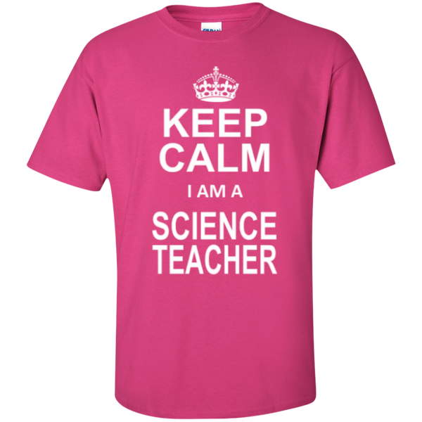 Keep Calm i'm a Science Teacher T-shirt Hoodie - TeachersLoungeShop - 4