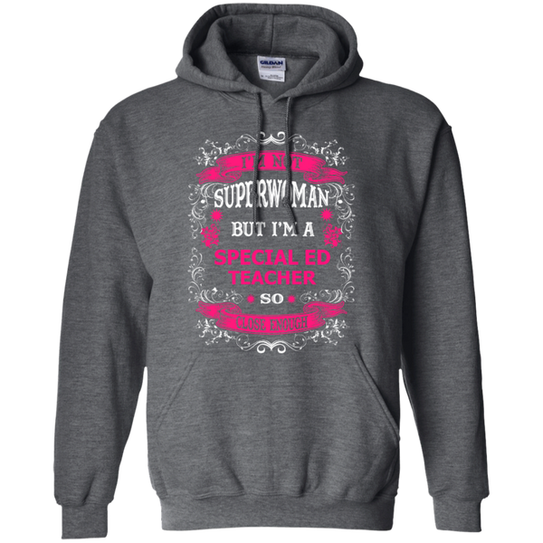 Not Superwoman But I'm a Special ED Teacher  Hoodie - TeachersLoungeShop - 3