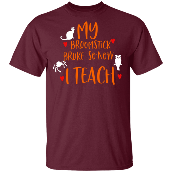 My broomstick broke so now i teach T-Shirt