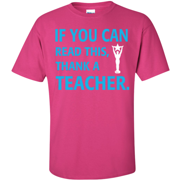 If You Can Read This Thank a Teacher T-shirt Hoodie - TeachersLoungeShop - 5