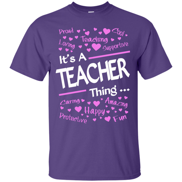It's a Teacher Thing Cotton T-Shirt - TeachersLoungeShop - 11