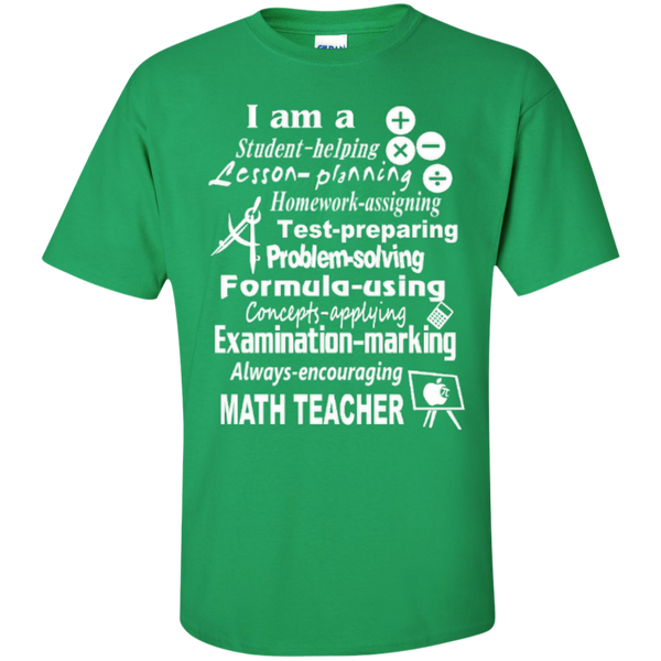 I am a Math Teacher Limited Edition T-shirt Hoodie - TeachersLoungeShop - 5