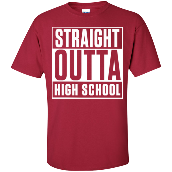 Straight Outta Middle School   Cotton T-Shirt - TeachersLoungeShop - 4