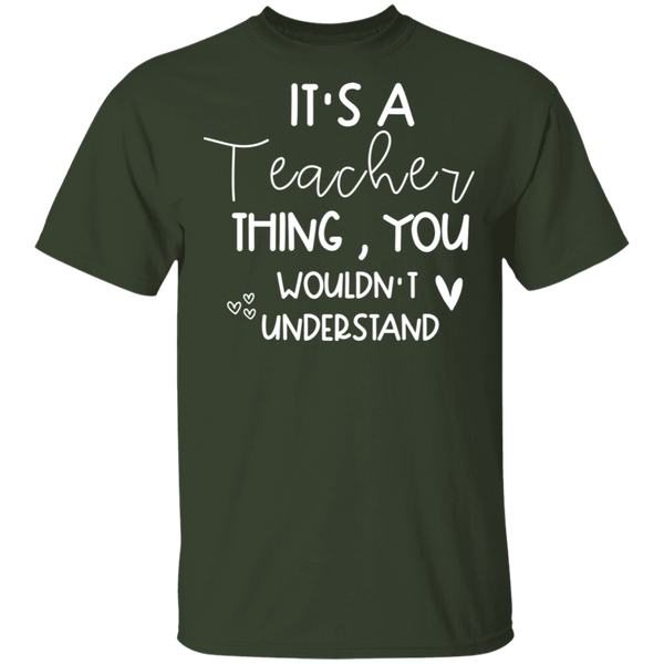 Teacher  Thing. T-Shirt
