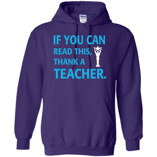 If You Can Read This Thank a Teacher T-shirt Hoodie - TeachersLoungeShop - 10