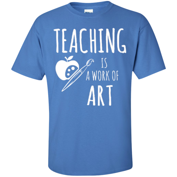 Teaching is a Work of Art Teacher T-shirt Hoodie - TeachersLoungeShop - 6