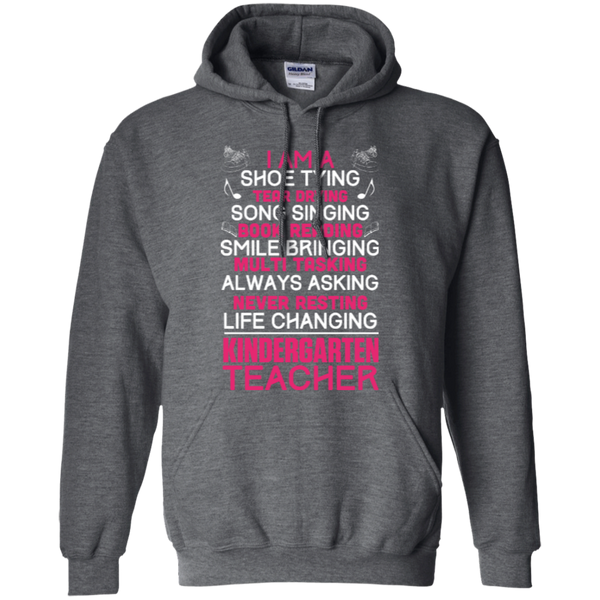 I'm a Kindergarten Teacher   Hoodie - TeachersLoungeShop - 3