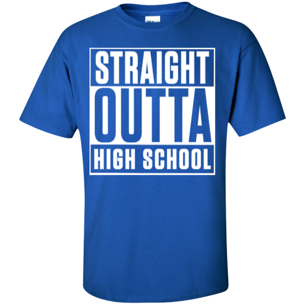 Straight Outta Middle School   Cotton T-Shirt - TeachersLoungeShop - 8