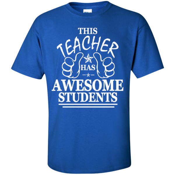 This Teacher has Awesome Students T-shirt Hoodie - TeachersLoungeShop - 2