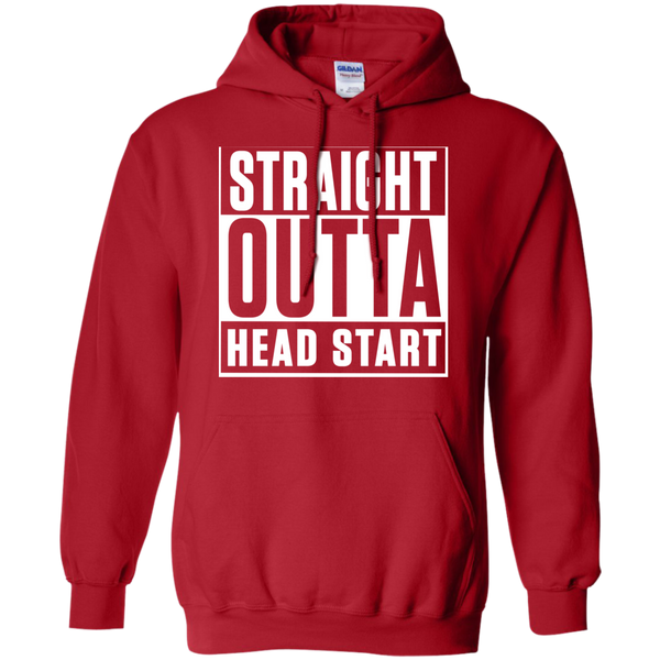 Straight Outta Head Start   Hoodie 8 oz - TeachersLoungeShop - 11