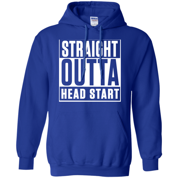 Straight Outta Head Start   Hoodie 8 oz - TeachersLoungeShop - 12