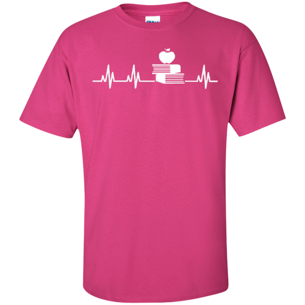 Teacher Heartbeat T-shirt Hoodies - TeachersLoungeShop - 5