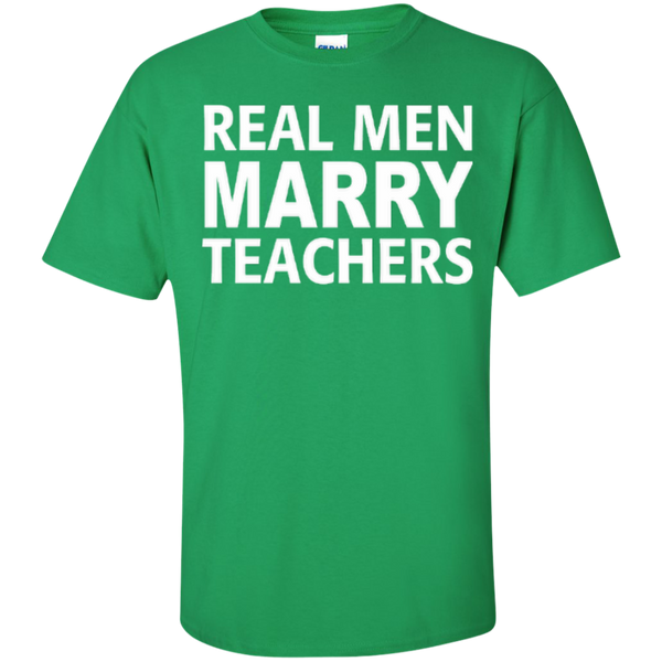 Real Men Marry Teachers T-shirt Hoodie - TeachersLoungeShop - 5
