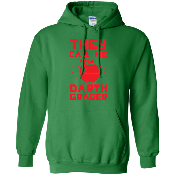 They call me Darth Grade  Hoodie 8 oz - TeachersLoungeShop - 7