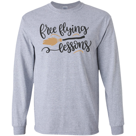 Free Flying Lessons LS Tshirt