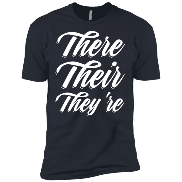 They Their They're  Next Level Premium Short Sleeve Tee - TeachersLoungeShop - 5