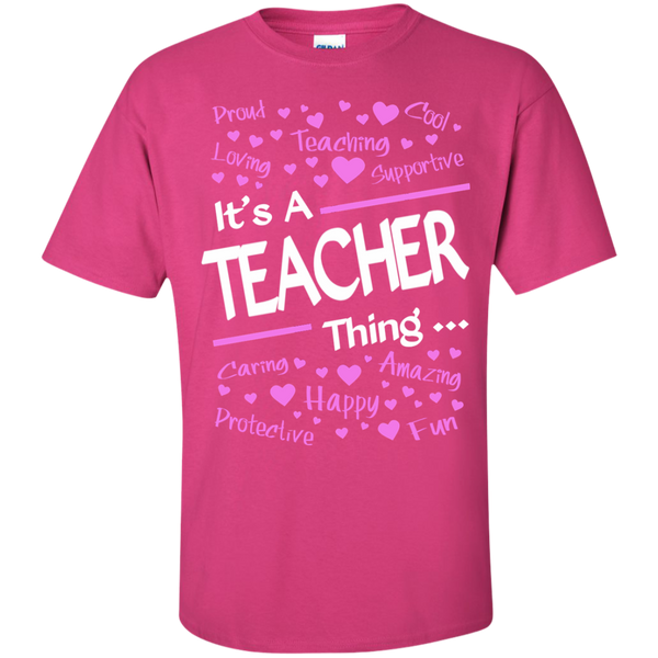 It's a Teacher Thing Cotton T-Shirt - TeachersLoungeShop - 3