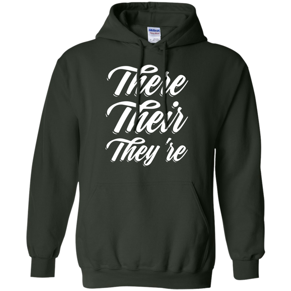 There Their They're Hoodie 8 oz - TeachersLoungeShop - 6