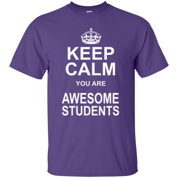 Keep Calm you are Awesome Students Teacher T-shirt Hoodie - TeachersLoungeShop - 3