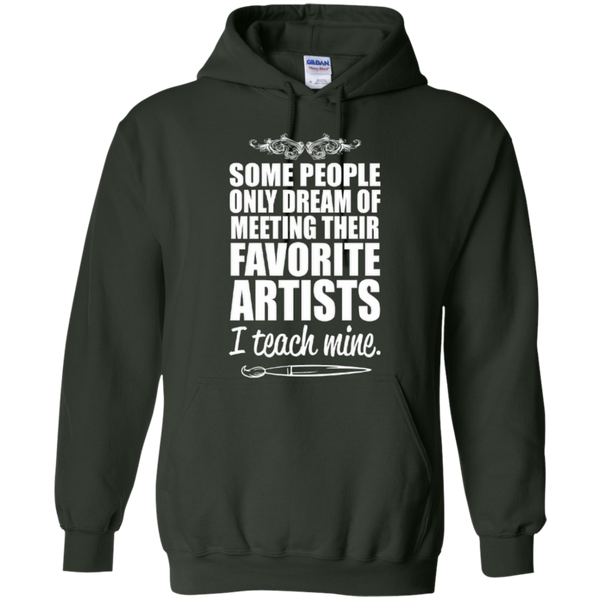 Favourite Artists i Teach Mine Hoodie - TeachersLoungeShop - 4