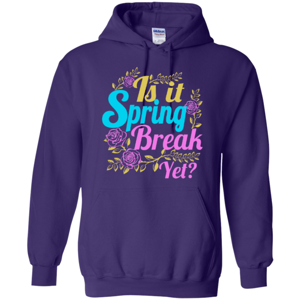 Is it Spring Break Yet Teacher T-shirt Hoodie - TeachersLoungeShop - 10