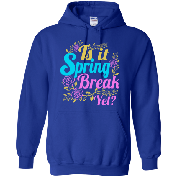 Is it Spring Break Yet Teacher T-shirt Hoodie - TeachersLoungeShop - 11