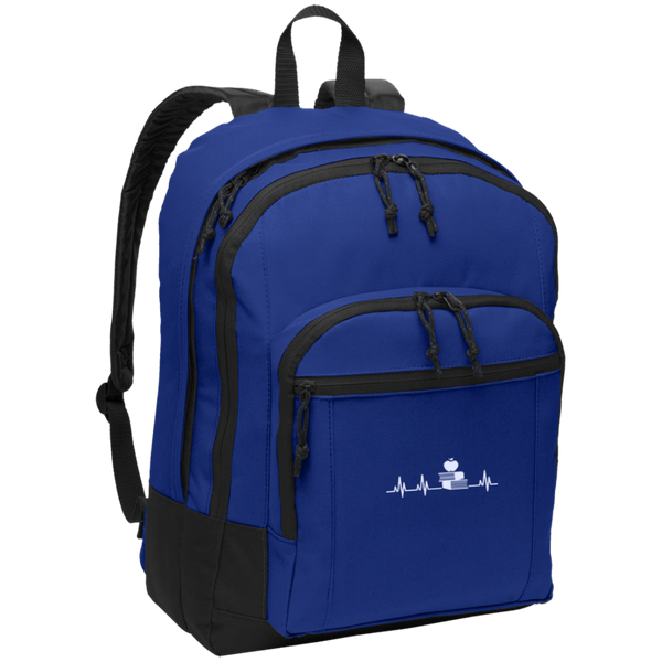 Teacher heartbeat  Backpack - TeachersLoungeShop - 3
